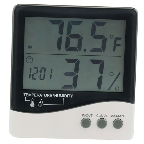 Thermometer/Hygrometer with large display