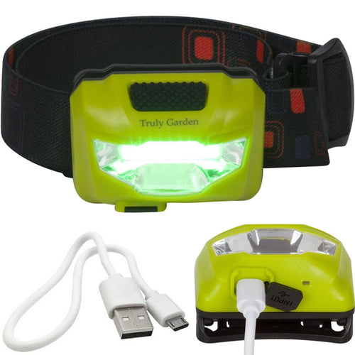 Green LED head lamp