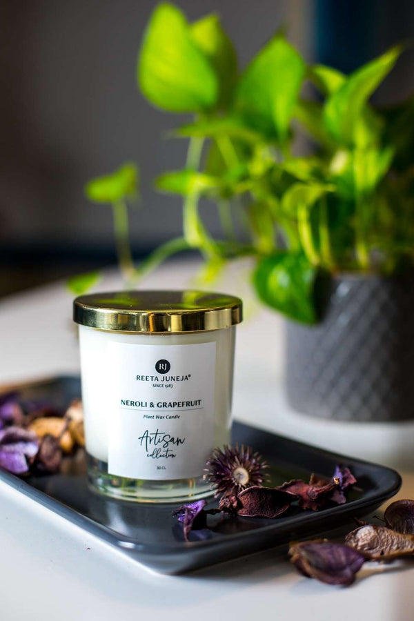 Artisan Collection: Neroli & Grapefruit Room Candle