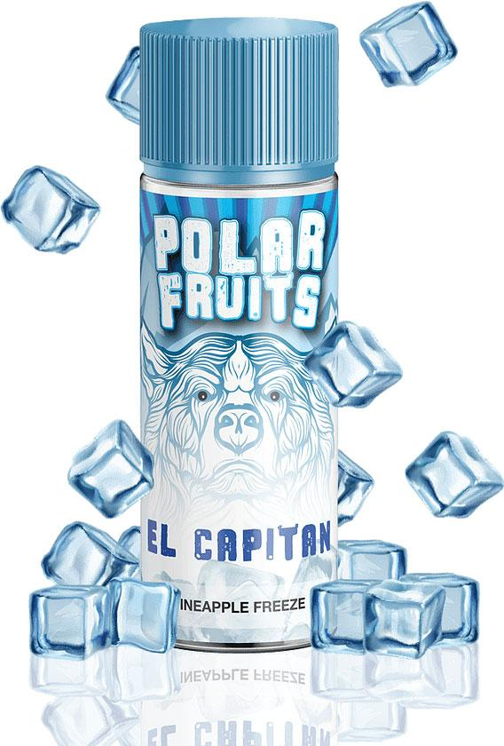 EL CAPTAIN 100ML ELIQUID BY POLAR FRUITS Polar Fruits