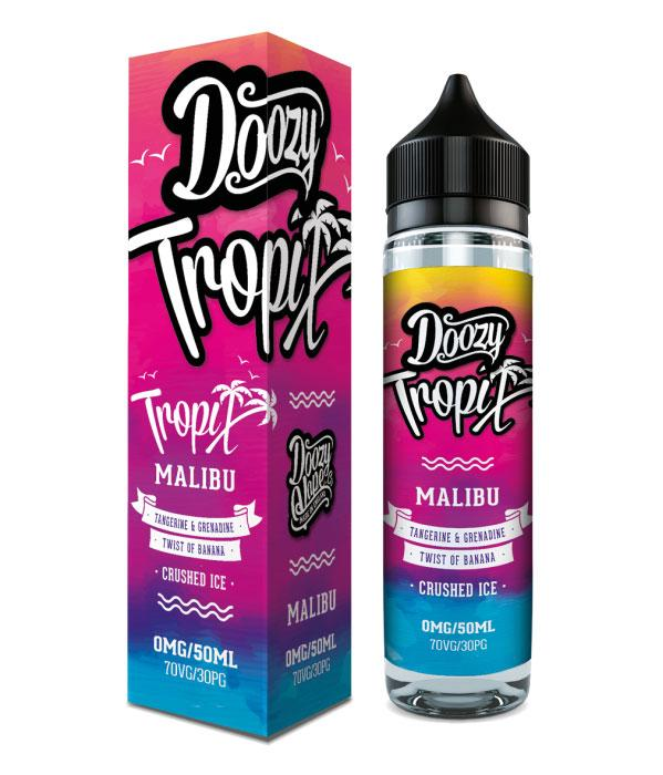 MALIBU EXOTIC RANGE 50ML BY DOOZY VAPE CO DOOZY JUICE CO
