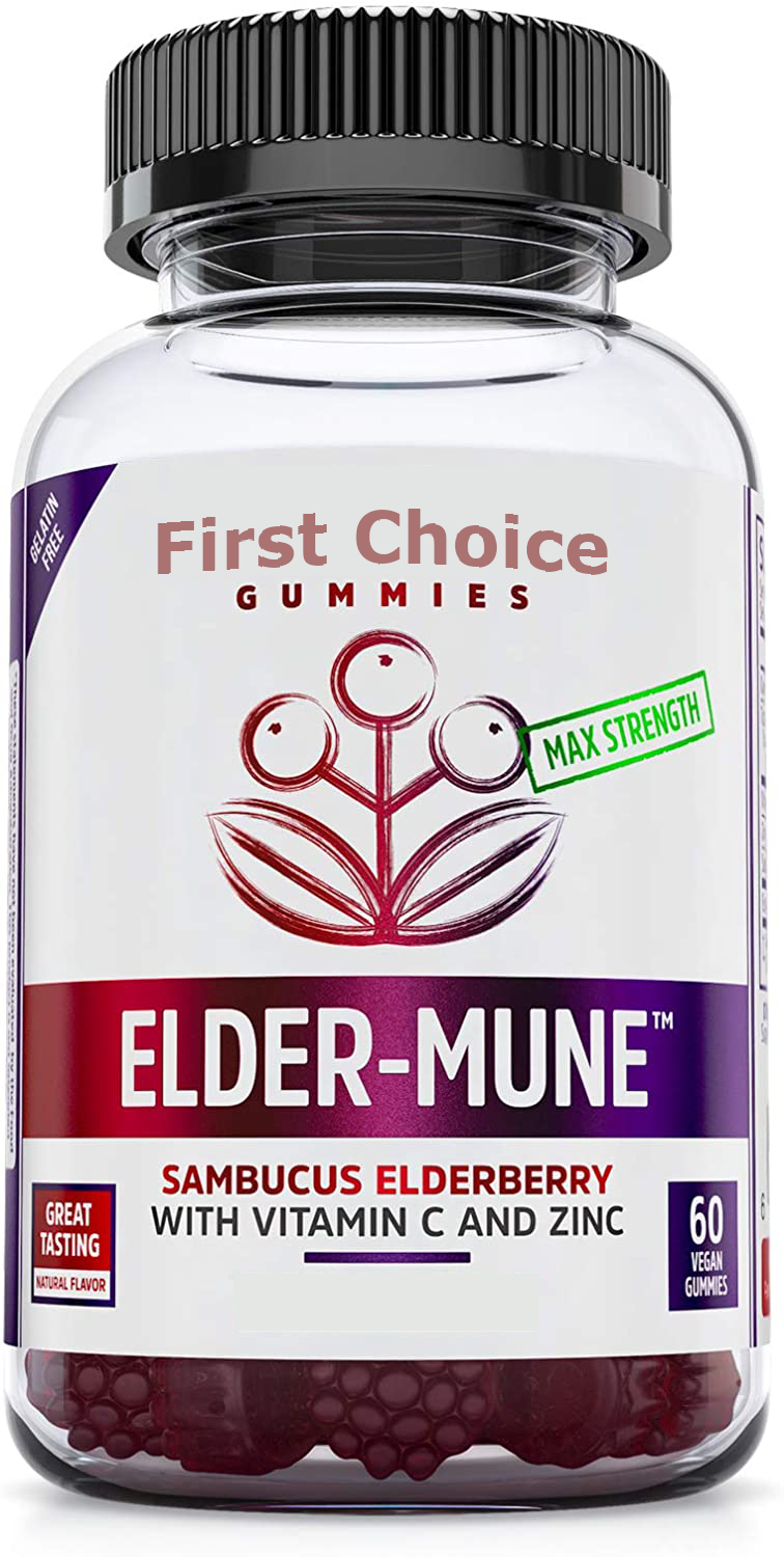 First Choice Sambucus Elderberry Gummies