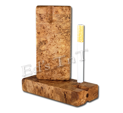 Big Leaf Maple Burl Dugout and One-Hitter
