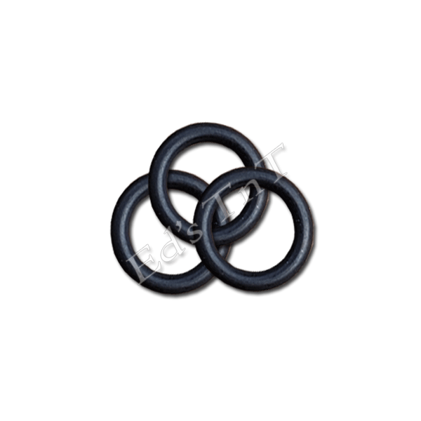 WoodScents High Temperature O-Rings for Glass Stem – 3 Pack