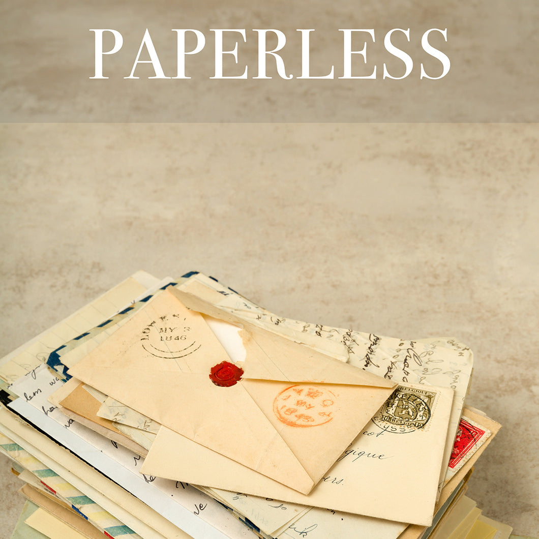 Paperless Historic Letter Subscription Gift Pack (American History 1776 - 1976)
