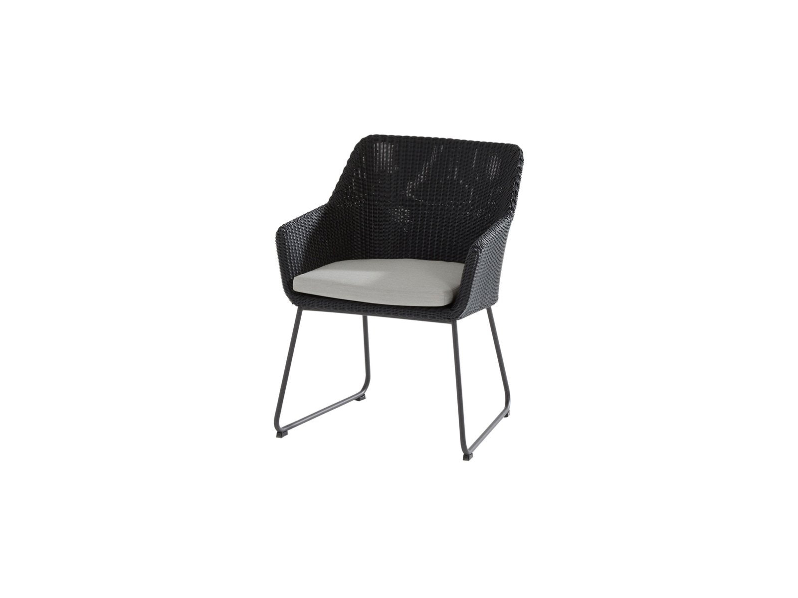 Avila Dining Chair Polyloom Anthracite
