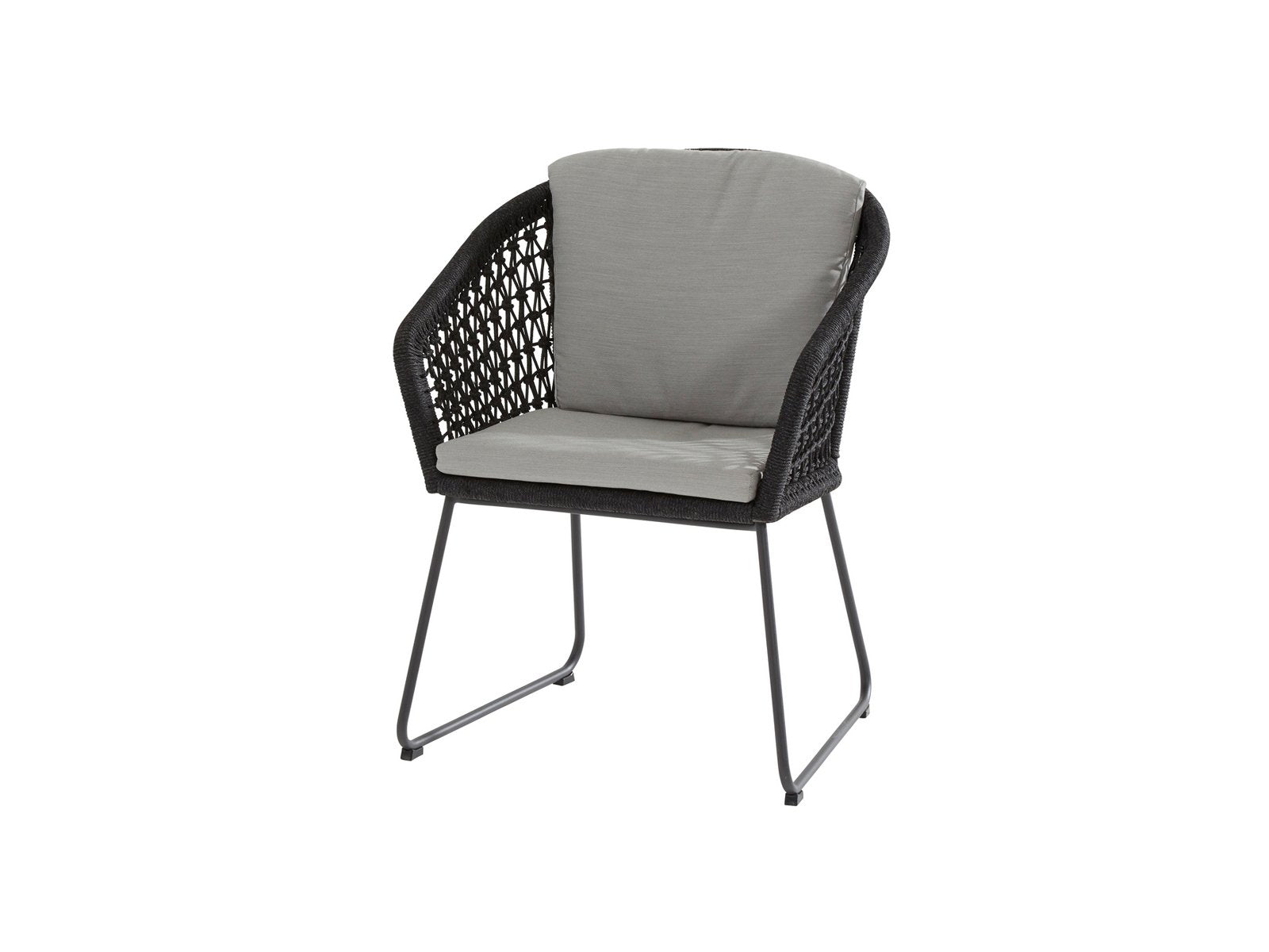 Mila-Dining-Chair-Stainless-Steel-Anthracite-Rope