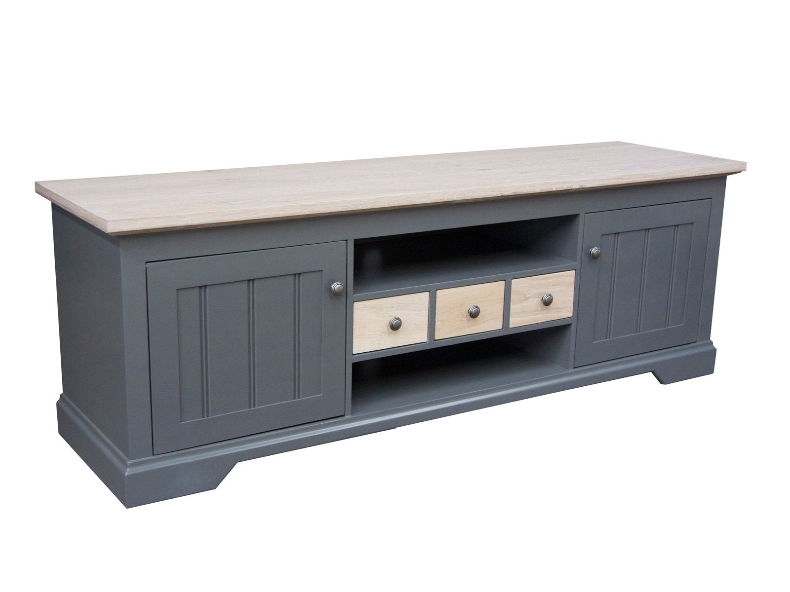 Orchard Grey Oak Wood Plasma Unit