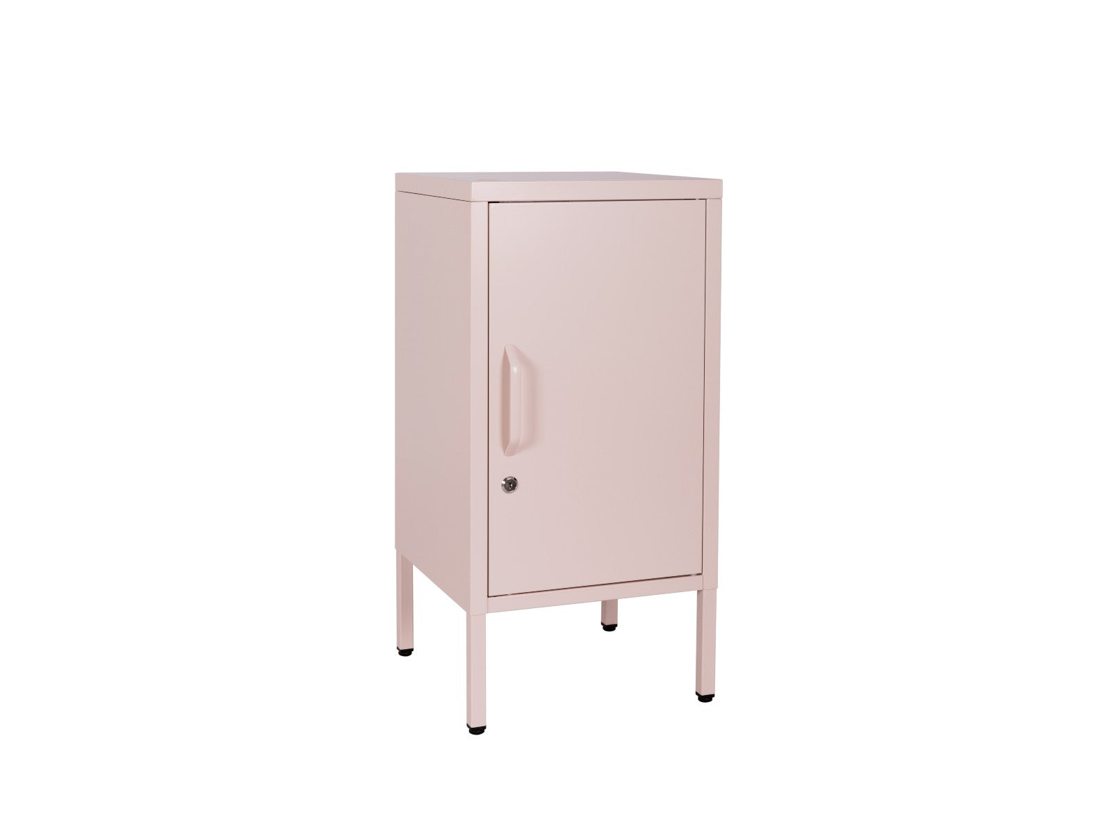 Sugar Cube Side Table Blush