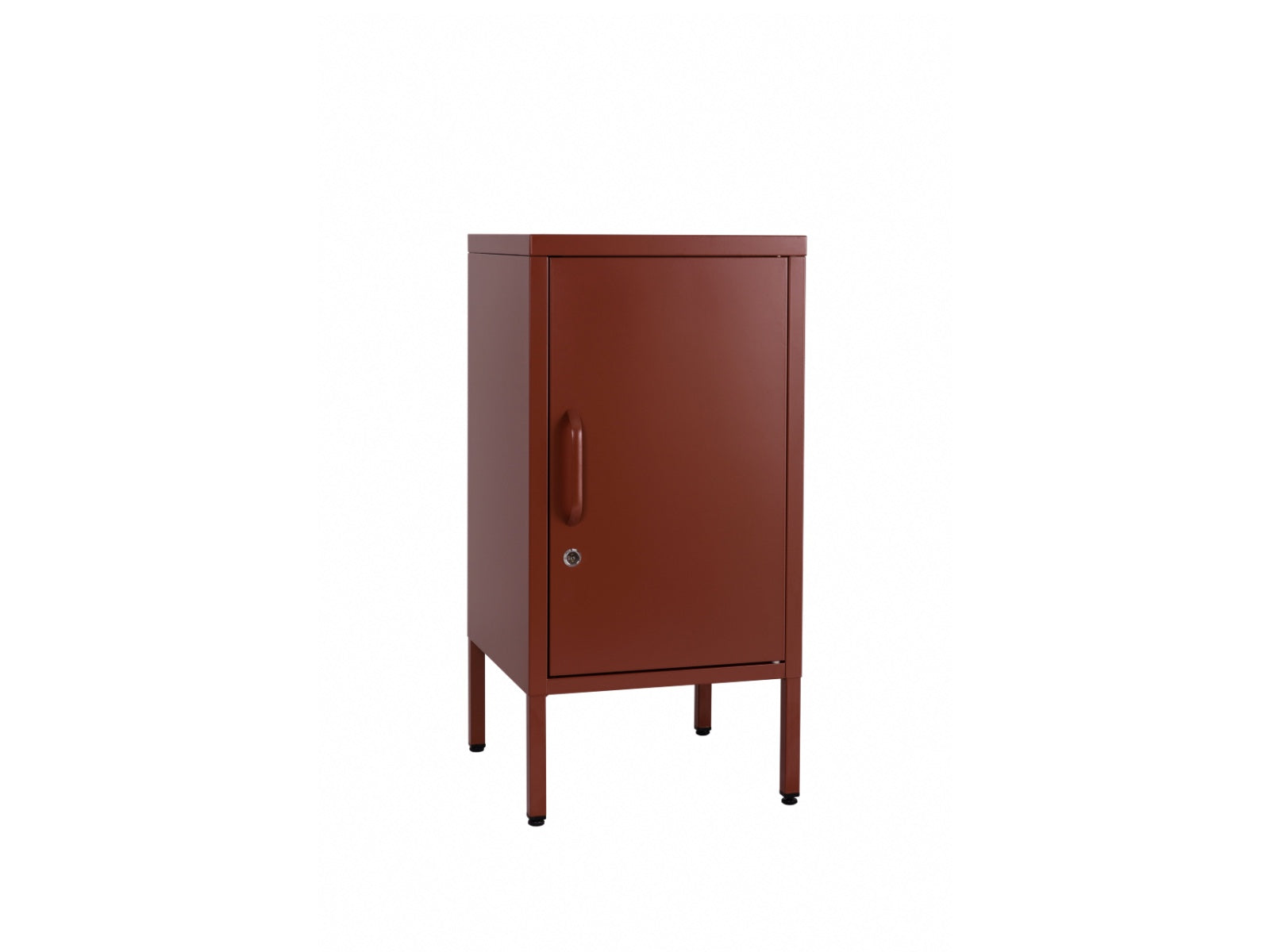 Sugar Cube Side Table Red