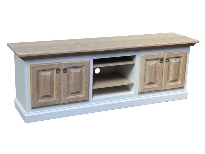 Vineyard White and Oak Wood Plasma Unit