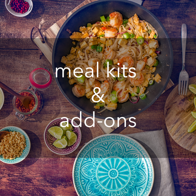 meal kits & add-ons