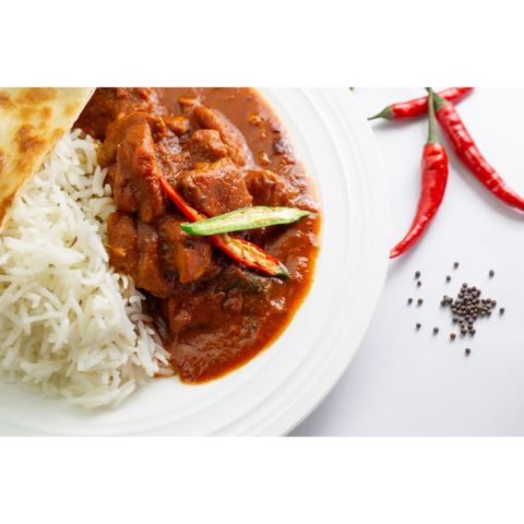 Chicken Vindaloo (frozen, only available as Click & Collect or In-Store)