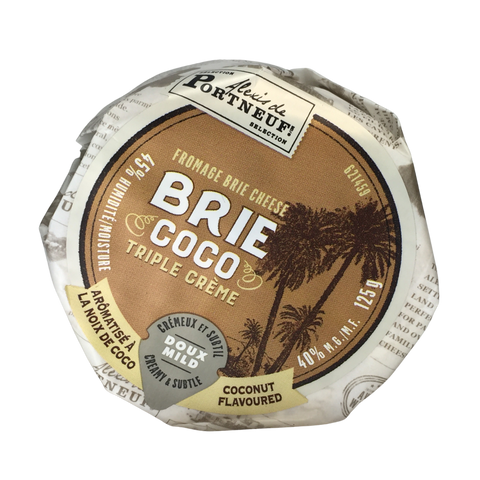Coconut Brie (only available as Click & Collect or In-Store)