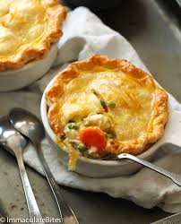 Free Range Turkey Pot Pie - 4 Mini's (frozen, only available as Click & Collect or In-Store)