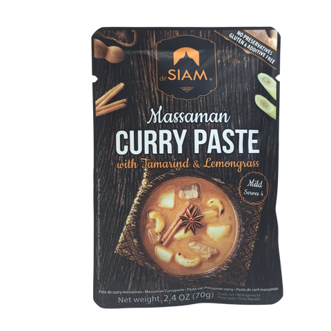 Curry Paste, Massaman