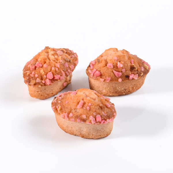 Financiers praline rose de Lyon
