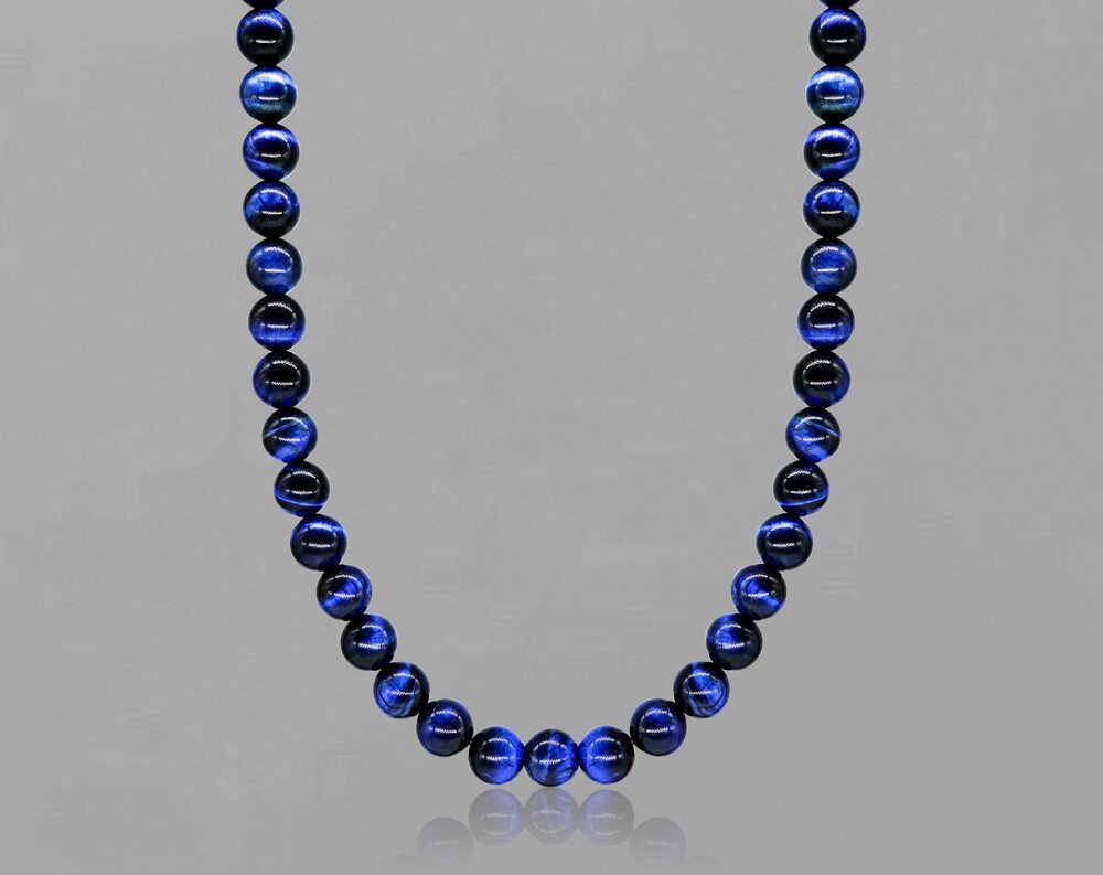 Blue Tiger's Eye Necklace