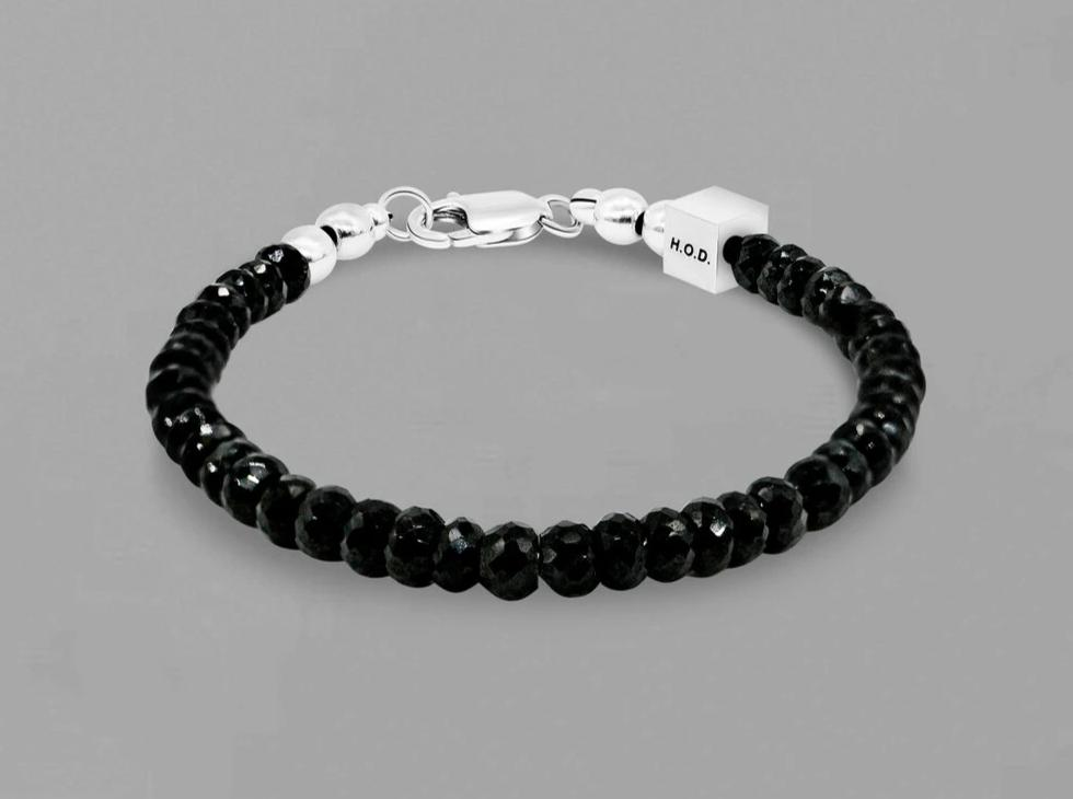 Onyx and Black Spinel Bracelet