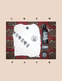 1. Crew Pack #1 - L/S Tee + Water Bottle + 2 Patches
