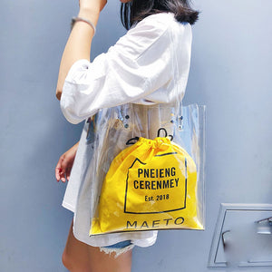 Luxury Women's Fashion Transparent Shoulder Bag