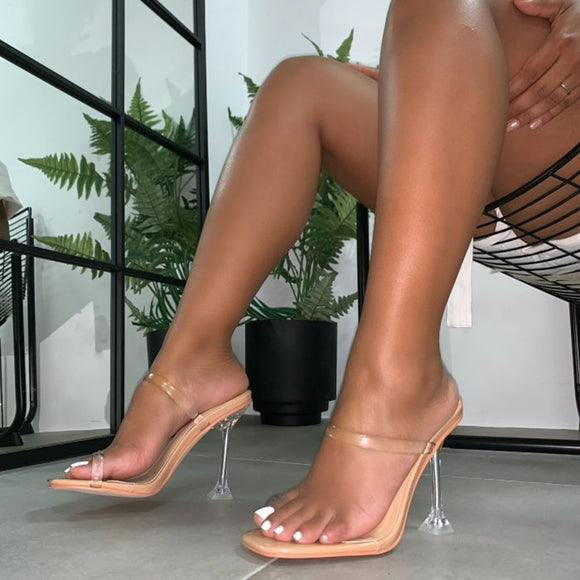 Transparent Clear High Heels Shoes
