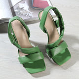 Woman Square Shoes