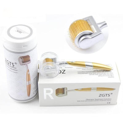 Professional Titanium ZGTS Derma Roller 0.2/0.25/0.3mm needle for face care and hair-loss treatment CE Certificate Proved