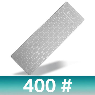 Diamond Knife Sharpening Stone 400# 1000# 600# Knife Sharpener Ultra-thin Honeycomb Surface Whetstone Grindstone Cutter Tool Set