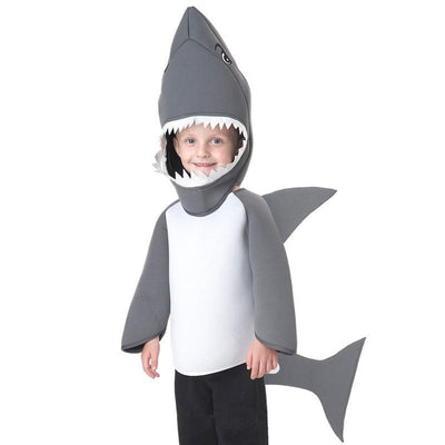 shark performance wear Halloween costume shark cospaly children kids cospaly stage dance costume