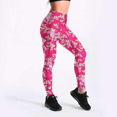 Sexy Girl Pencil Pant The Nightmare Before Christmas Prints Elastic Slim Fitness Workout Women Leggings Plus Size