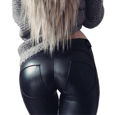 Leather Leggings Thick/Black/Push Up/High Waist Leggings Women Plus Size Winter Legging Sexy Pants Women Leggins