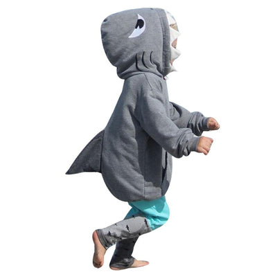 Toddler Kid Baby Girl Boy 3D Cartoon Hoodie Shark Tops+Pants Clothes Set Outfits Kids Clothes Baby Set Newborn Baby Clothing New