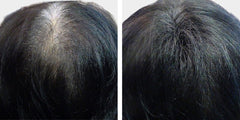 Black Hair Thickening Product before and after Boost n Blend