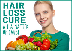 Find the cure to hair loss