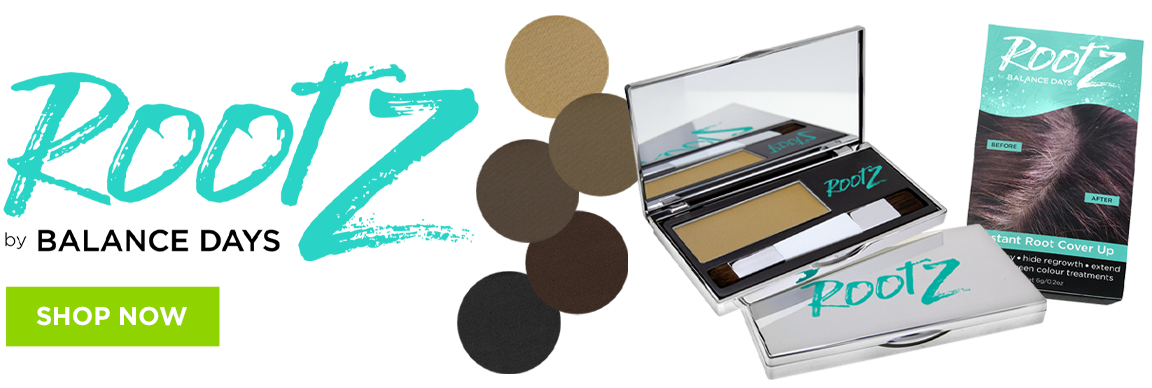 Try RootZ Gray Root Concealer now for instant coverage