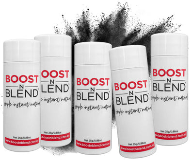 BOOSTNBLEND® Midnight Shadow Black 5 Pack - GET ONE FREE! Bulk Buy