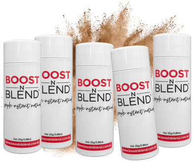 Boost N Blend™ Lush Light Brown 5 Pack - GET ONE FREE! Bulk Buy