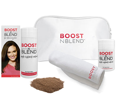 Boost N Blend™ Bundle Gift Pack with Microfibre Towel - Smooth Medium Brown