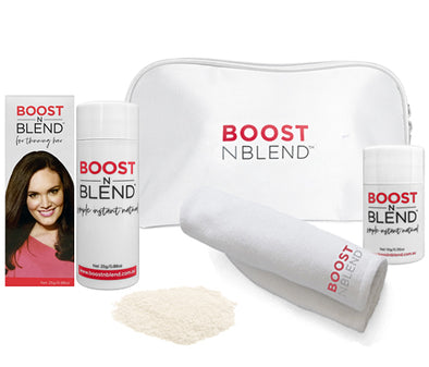 Boost N Blend™ Bundle Gift Pack with Microfibre Towel - Platinum Blonde