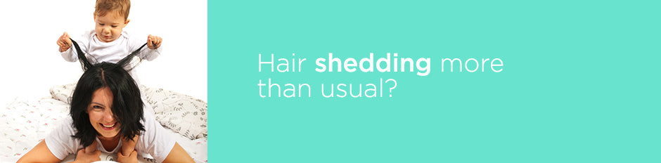 More than 50% of women experience hairloss at some stage in their lifetime...