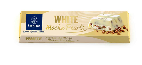 Barra 50G  - WHITE WITH MOCHA PEARLS