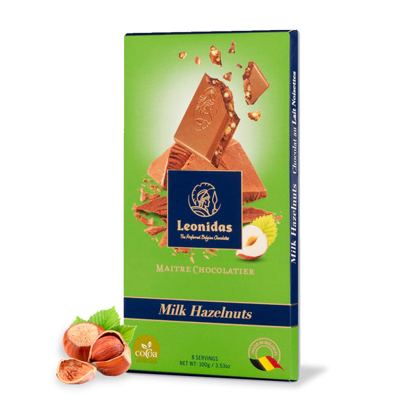 Tablete 100g MILK HAZELNUTS