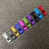 10x Rainbow aluminium Drip Tips
