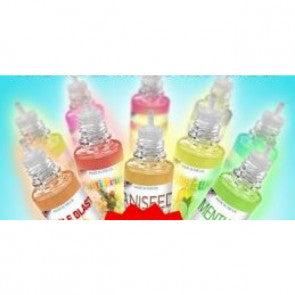 FRUIT AND SWEETS MEGA BOTTLE: 60ml to 100ml DIY E-LIQUID - ALL 50/50 MIX