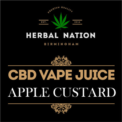 CBD oil - Apple Custard