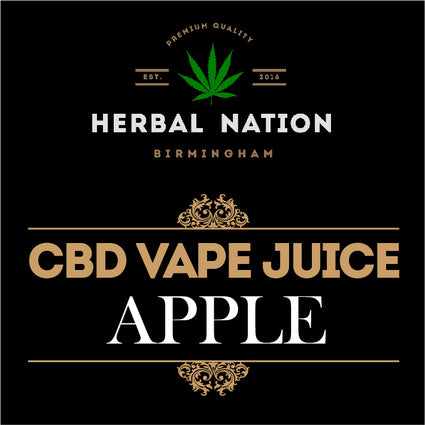 CBD oil - Apple
