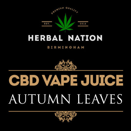CBD oil - Autumn Leaves