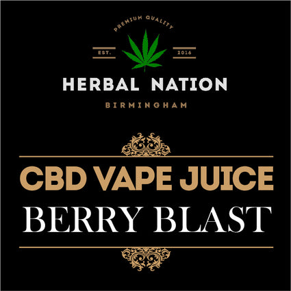 CBD oil - Berry Blast