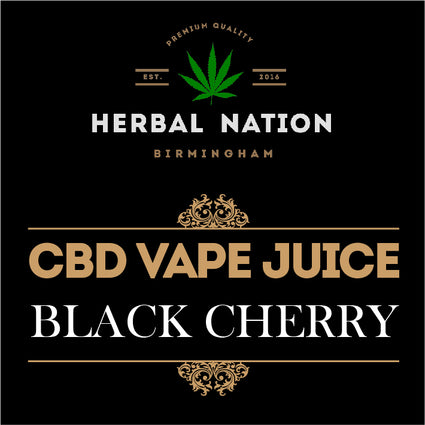 CBD oil - Black Cherry